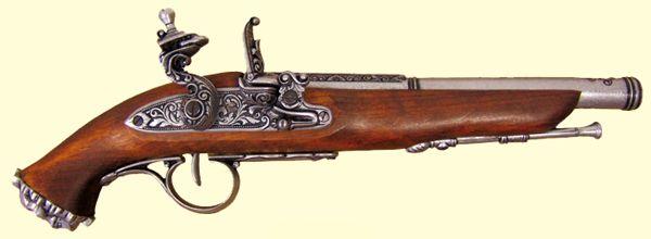 Pirat flintlås pistol #1103/G