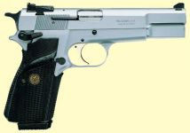 Browning High Power Pratical Silvercrome