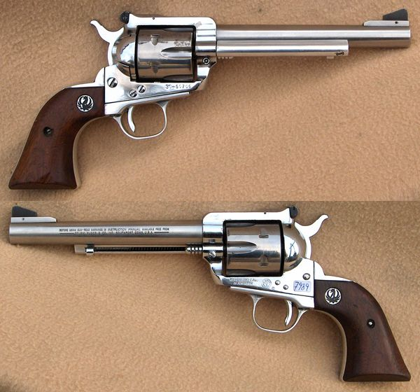 Ruger blackhawk 6 1/2&; kal. 38/.357mag. rustfri. varenr.: p7989