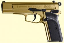 Browning GPDA9 Gold finish