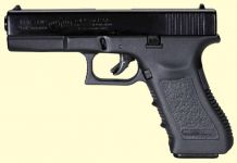 Glock 17. Blåneret finish.