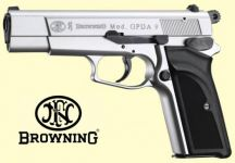 Browning GPDA9 Nikkel finish