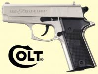 Colt Double Eagle Combat Commander. Nikkel finish.