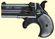 Derringer, sort finish.