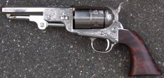 Colt 1851 Reb Nord Navy Sheriff, nickel finish.
