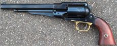 Remington 1858 New model Army, blåneret finish.