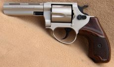 Smith & Wesson M.38 Special. Nikkel finish.