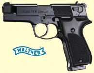 Walther P88 Compact. Blåneret finish.