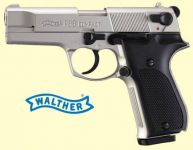 Walther P88 Compact. Nikkel finish.