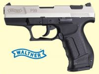 Walther P99. Nikkel finish.