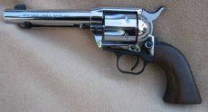 Colt 1873 Peacemaker, nikkel finish.